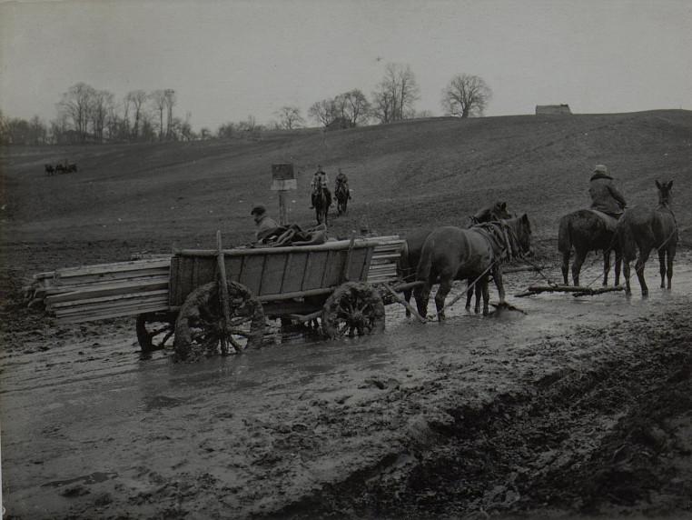 Дорога, Волинська губернія, початок ХХ століття