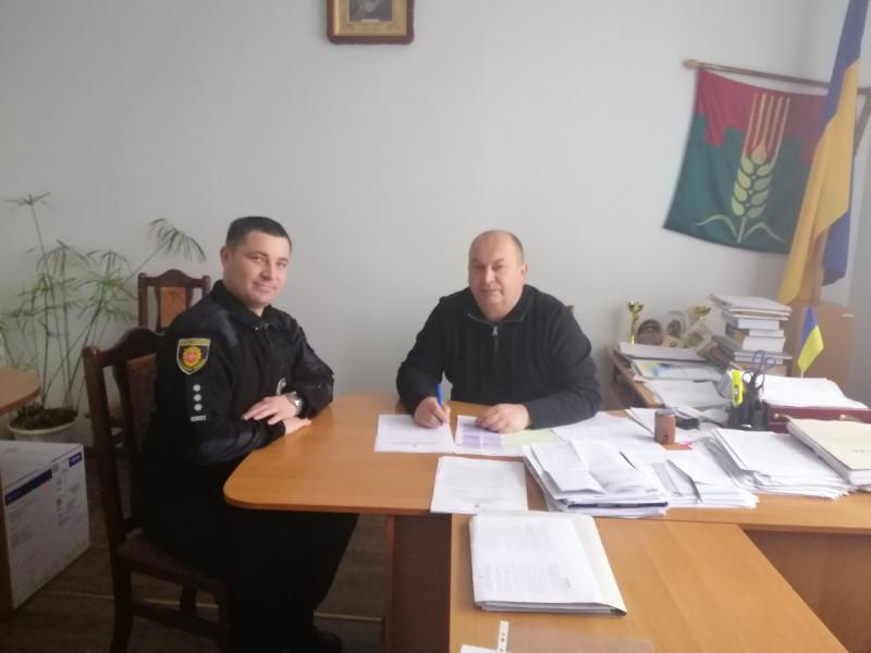 Петро Уяздовський та Віктор Іщук