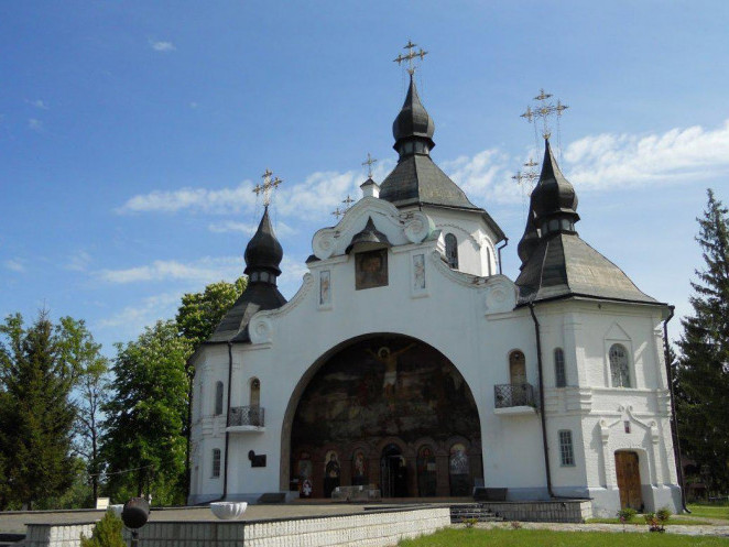 Свято-Георгіївський монастир на Козацьких Могилах