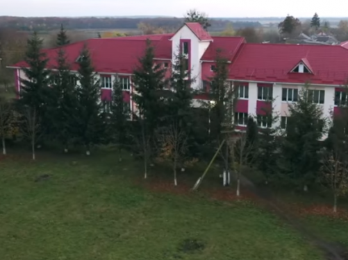 Школа села Малево