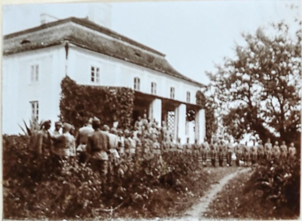 Палац у часі Першої світової