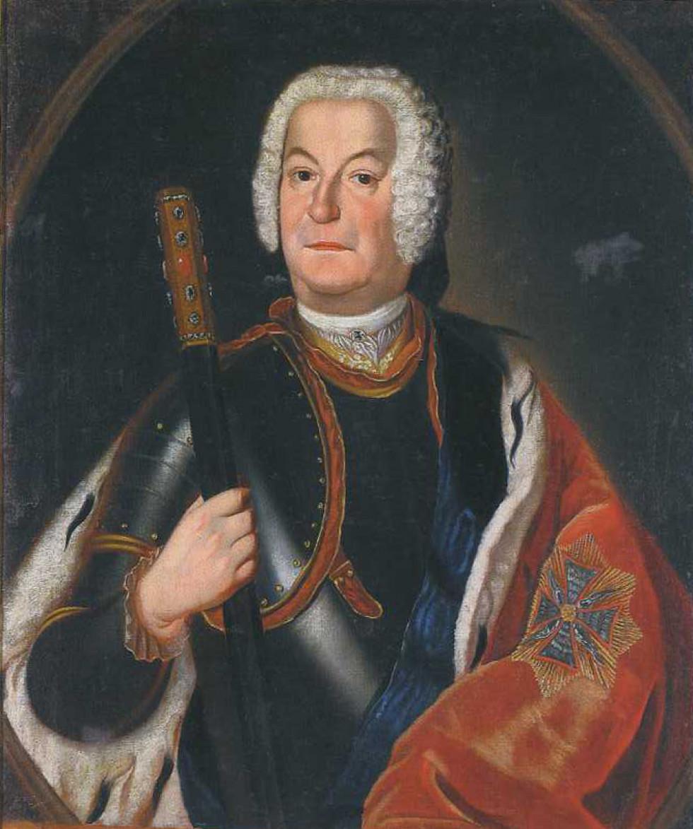Павло Карл Сангушко, 1750. Зображення з Вікіпедії