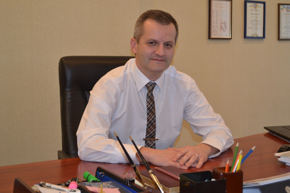 Керівник Рівненського регіонального офісу Програми«U-LEADз Європою»Руслан Сивий.